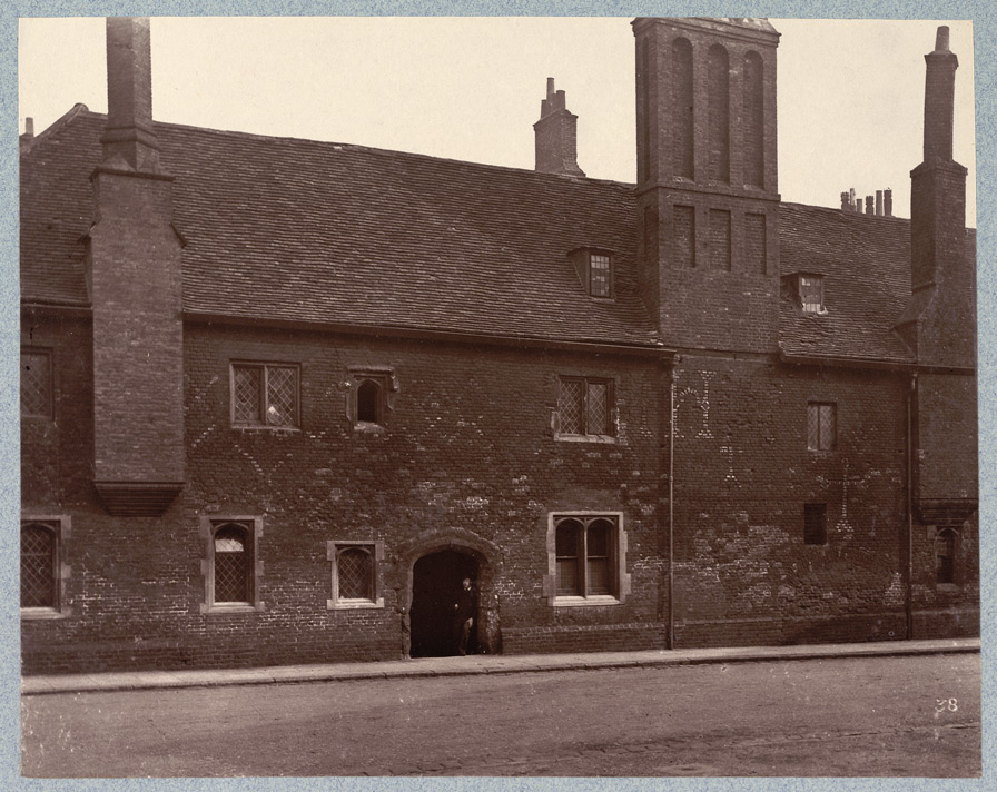 Charterhouse, Exterior Of Washhouse Court
